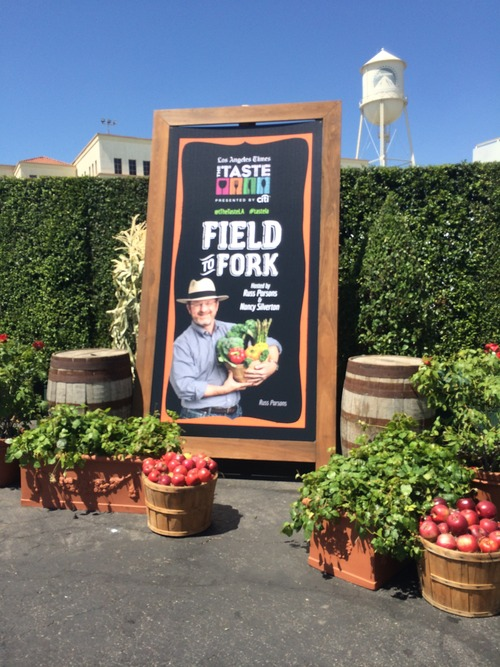 Field to Fork- LA TASTE LA