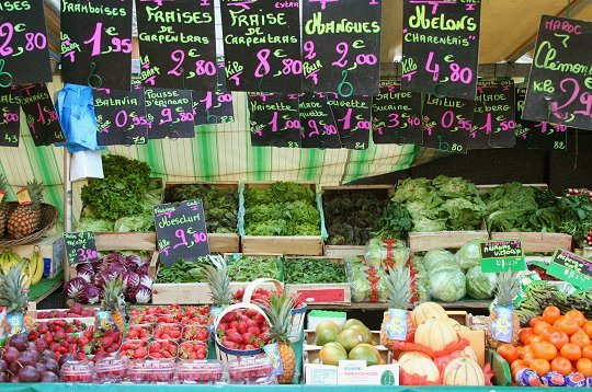 Finding Food in Paris – Markets and Gourmet shops