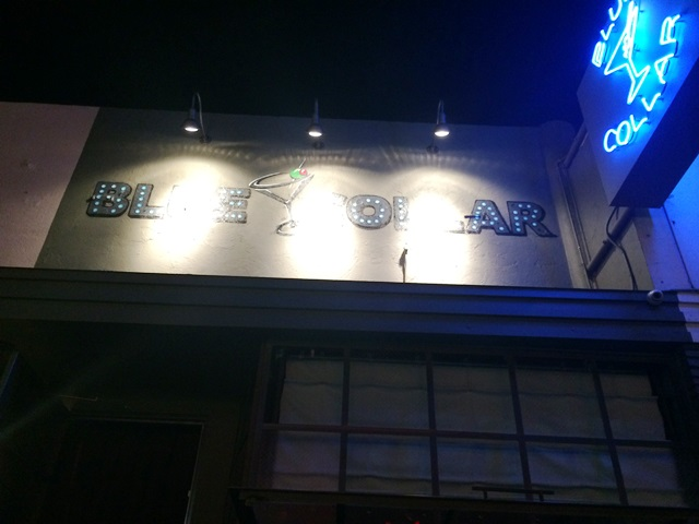 Blue Collar Bar on Fairfax Ave