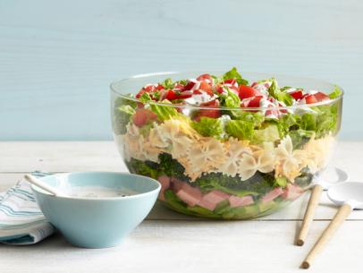 http://www.foodnetwork.com/recipes/food-network-kitchens/7-layer-pasta-salad-recipe.html