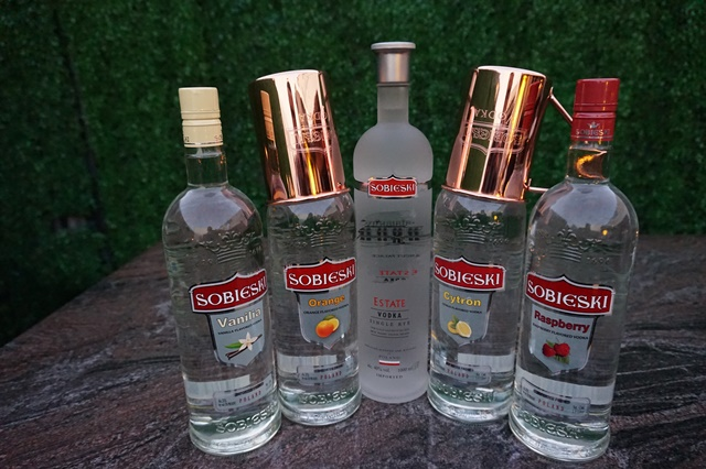 SOBIESKI ESTATE SINGLE RYE PREMIUM VODKA, MAKES ITS NATIONAL DEBUT IN THE UNITED STATES MARKET