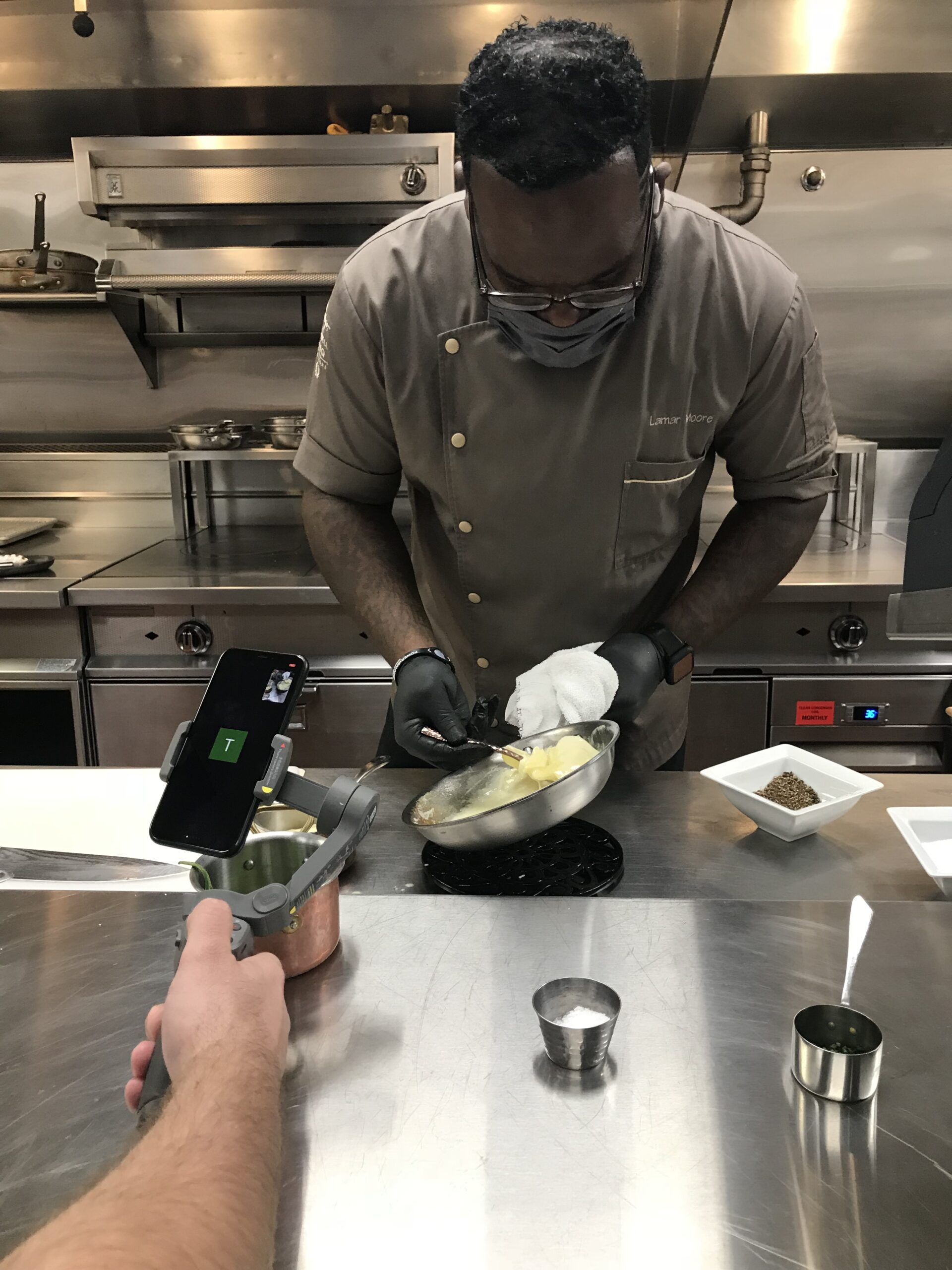 Our Zoom Call With Chef Lamar Moore
