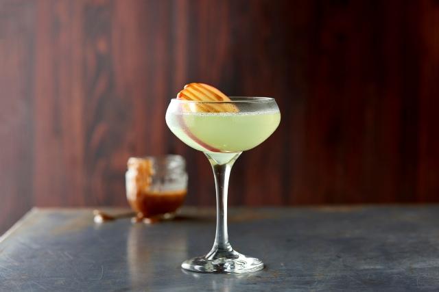A Halloween Cocktail- Caramel Apple Martini by Zodiac Vodka