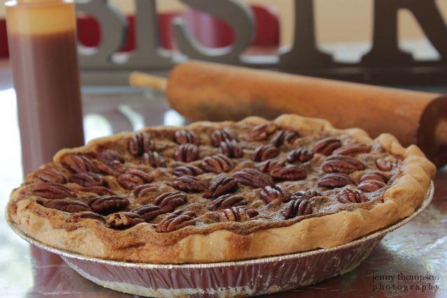 Have you ever heard of Bacon Bourbon Pecan Pie ?